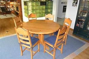 Esszimmertisch Mit 6 Stühlen : runder esszimmertisch mit 6 st hlen massiv f r 6 12 personen bis 12 personen ausziehbar in ~ Eleganceandgraceweddings.com Haus und Dekorationen