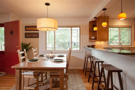 lighting over kitchen table light over dining table