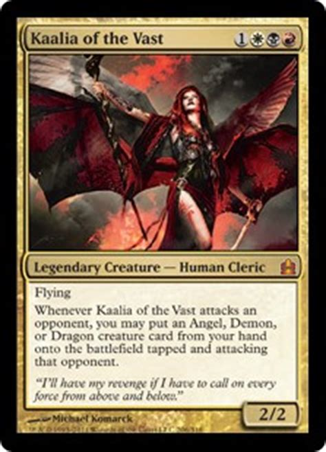 master of cruelties deck mtg kaalia of the vast magic the gathering commander