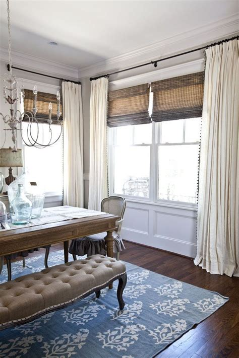 Curtain Ideas For Dining Room by New Curtains For The Dining Room Eclectic Diy Craft