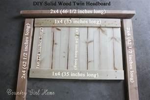 How to Build a Wood Twin Headboard