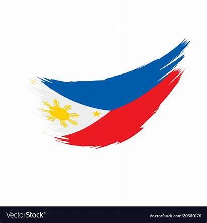 Flag Philippines Vector Royalty Owner Credit Vectorstock