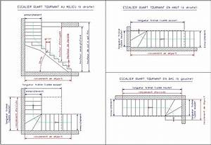 Escalier Quart Tournant Haut Droit : calcul d 39 un escalier quart tournant fabrication escalier ~ Dailycaller-alerts.com Idées de Décoration