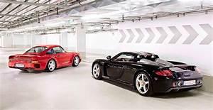 1987, Porsche, 959, Sport, Vs, 2004, Porsche, Carrera, Gt