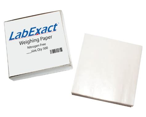 Weighing Boat Paper by Labexact 1200158 W33 Cellulose Weighing Paper Sheet
