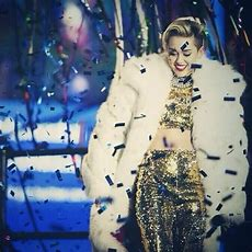 Miley Cyrus's New Year's Eve Outfit In A Word Fabulous