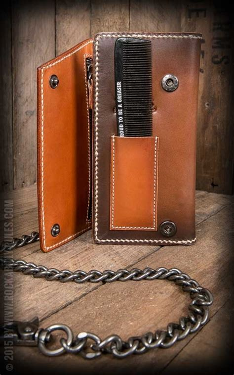 Comb Leather Wallet   Top Choice of Wallets & Chains