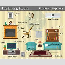 Living Room Vocabulary  Useful Vocabulary  English