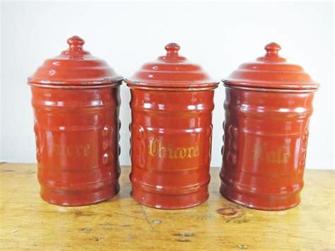 burgundy kitchen canisters 10 best retro images on vintage kitchen