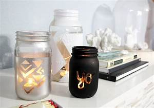 diy jar candle holders design decoration With best brand of paint for kitchen cabinets with mason jar candle holder ideas