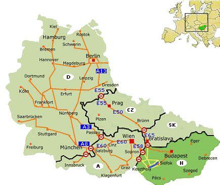 routenplaner deutschland ungarn wegbeschreibung