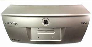 Trunk Lid Rear Deck Boot With Lip 99