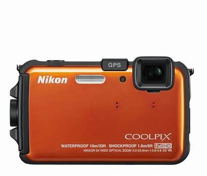 Nikon Coolpix Camera Aw100 Waterproof Digital Underwater