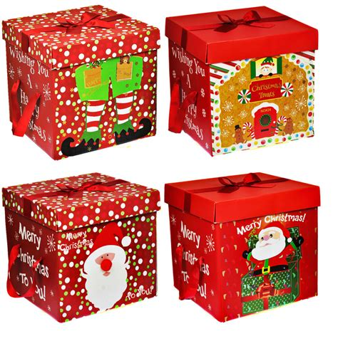 Permalink to Flat Pack Christmas Gift Boxes