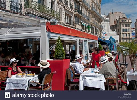 restaurant marseille vieux port miramar bouillabaisse fish soup restaurant cafe bar pub marseilles stock photo royalty free