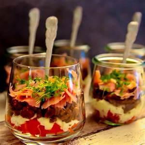Fingerfood Rezepte Schnell Und Einfach : schinken pumpernickel sandwich im glas geschmacks sinn ~ Articles-book.com Haus und Dekorationen