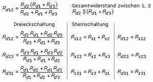 Widerstand Einer Spule Berechnen : quivalente stern dreieck umrechnung ~ Themetempest.com Abrechnung