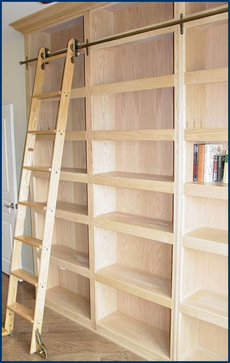 Best 25+ Bookcase With Ladder Ideas On Pinterest Library