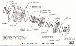 Warn Locking Hub Parts  Other    S