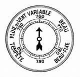Barometer Coloring Barometro Sketch Template sketch template