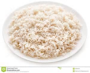 White Rice Plate Clip Art