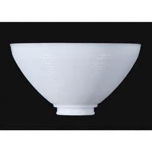 3 quot x 10 quot white opal reflector bowls floor l glass shade