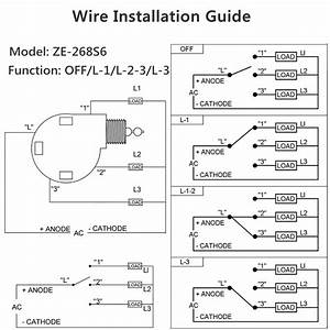 3 Way Rotary Switch Wiring Diagram Fan