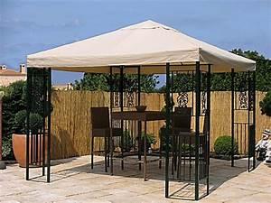 Pavillon 3 X 3 : grasekamp garten pavillon roma 3x3m mit 2 seitenteile party zelt terrassen dach von weltbild ~ Orissabook.com Haus und Dekorationen