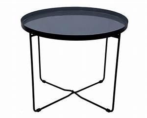 Table Ronde Grise : table basse ronde hisor grise commandez les tables basses rondes hisor grises rdv d co ~ Teatrodelosmanantiales.com Idées de Décoration