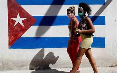 Cuba Covid Coronavirus Response Against Casos Nuevos