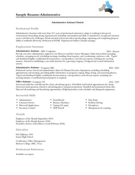 resume professional profile examples professional profile
