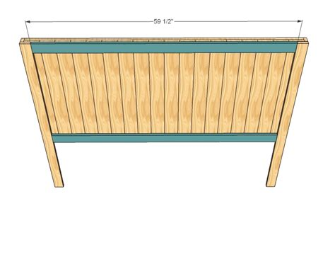 build queen headboard plans plans woodworking wood