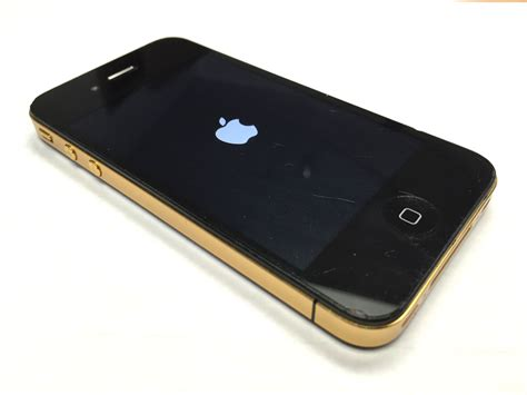 gold in iphone iphone 4 gold color frame conversion ifixsmartphone