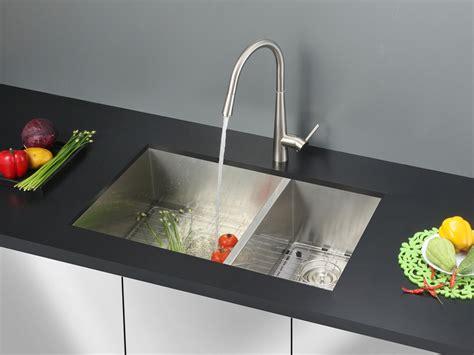 40 inch kitchen sink ruvati 32 inch undermount 60 40 bowl zero radius 16 3905