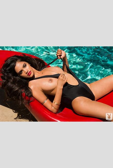 Miss September Bryiana Noelle Naked by the Pool - Pmates Beautiful Girls!