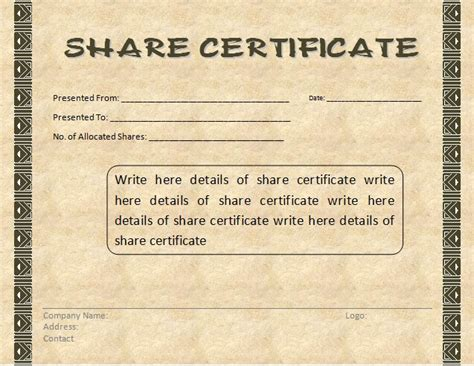 Free Word Templates Part 2 Certificate Templates Free Word Templates Part 2