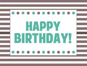 Happy Birthday Signs Printables