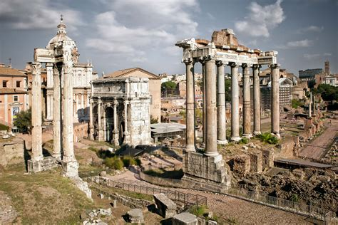 Roman Forum, The Debris Collection Of Ancient Buildings In