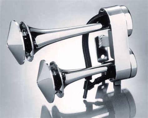 Rivco Chrome Air Horn Honda Vt, Vtx, Vlx
