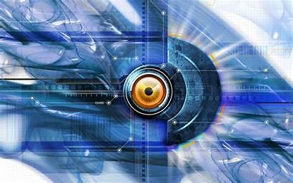 Tech Future Digital Technology 3d Hi Abstract