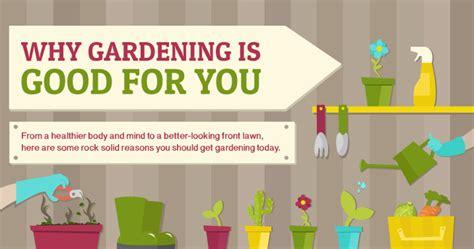 reasons  gardening  good