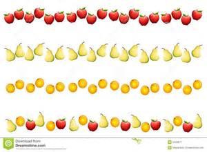 Fruit Border Clip Art
