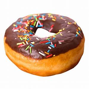 Chocolate Donut transparent PNG - StickPNG