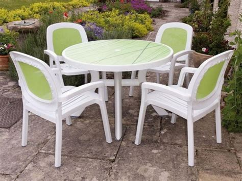 furniture outdoor plastic table cheapest plastic patio