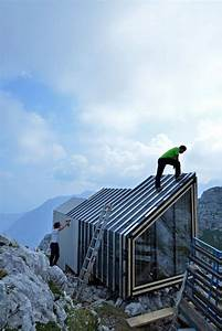 OFIS constructs alpine shelter for climbers of skuta ...