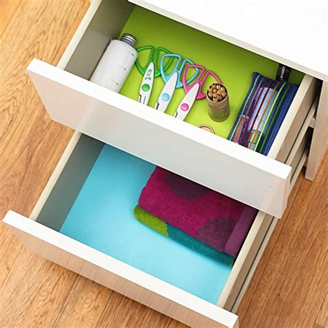 eva cabinet drawer liner bright colored shelf liner  adhesive refrigerator pad cupboard