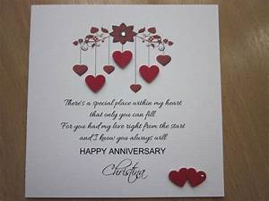 details about personalised handmade anniversary With best wedding anniversary gifts for wife