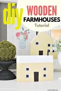 How, To, Make, Mini, Houses, These, Are, So, Adorable, Sitting, On, The, Mantel, Diyfarmhousecraft