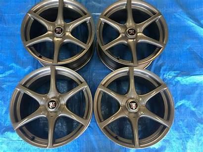 R34 Wheels Gtr Skyline Nissan Oem Forged
