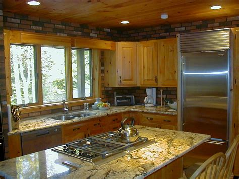 knotty pine paradise categorized  transitional